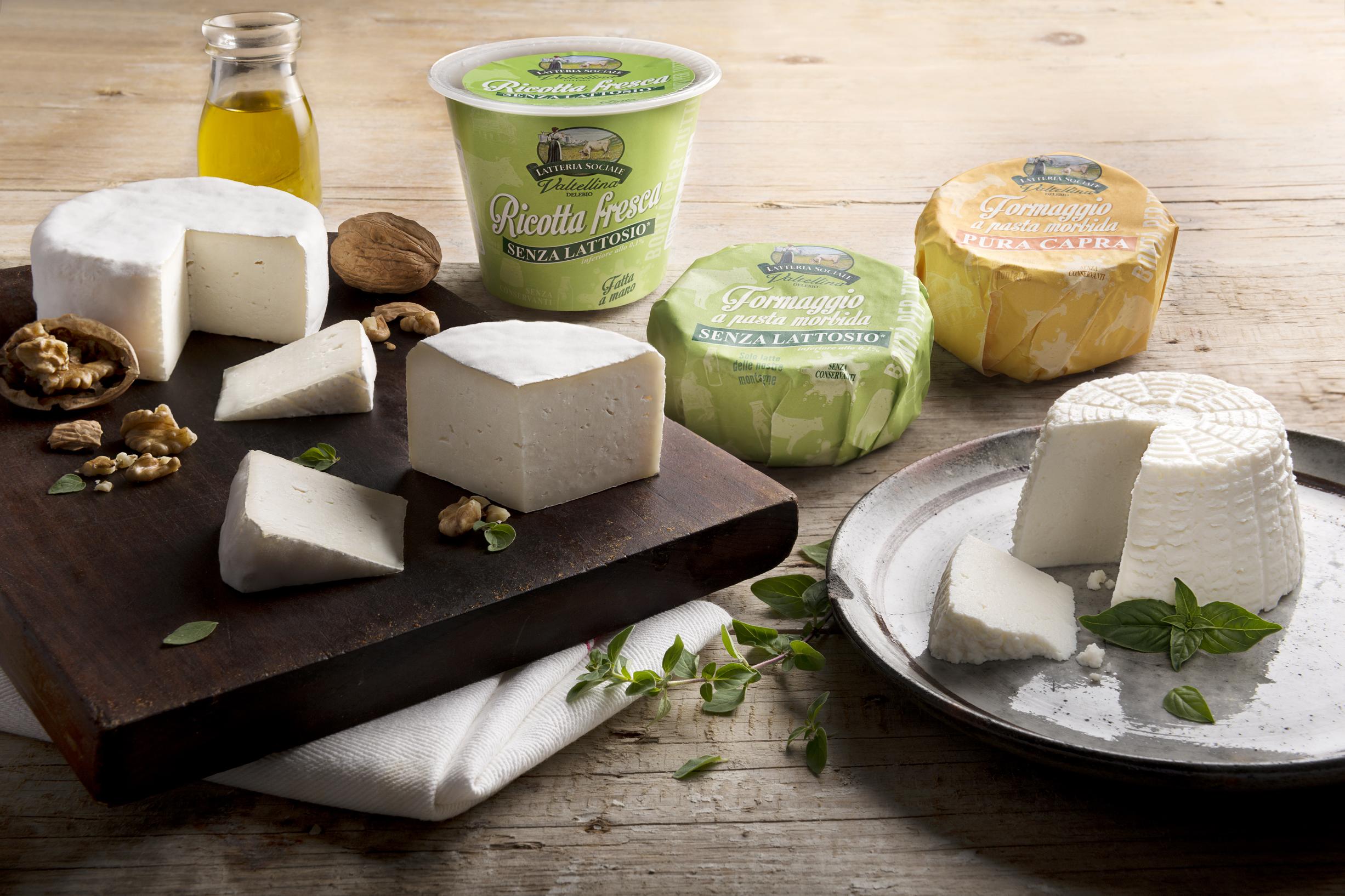 Da Latteria Sociale Valtellina una nuova linea di formaggi buoni, per tutti